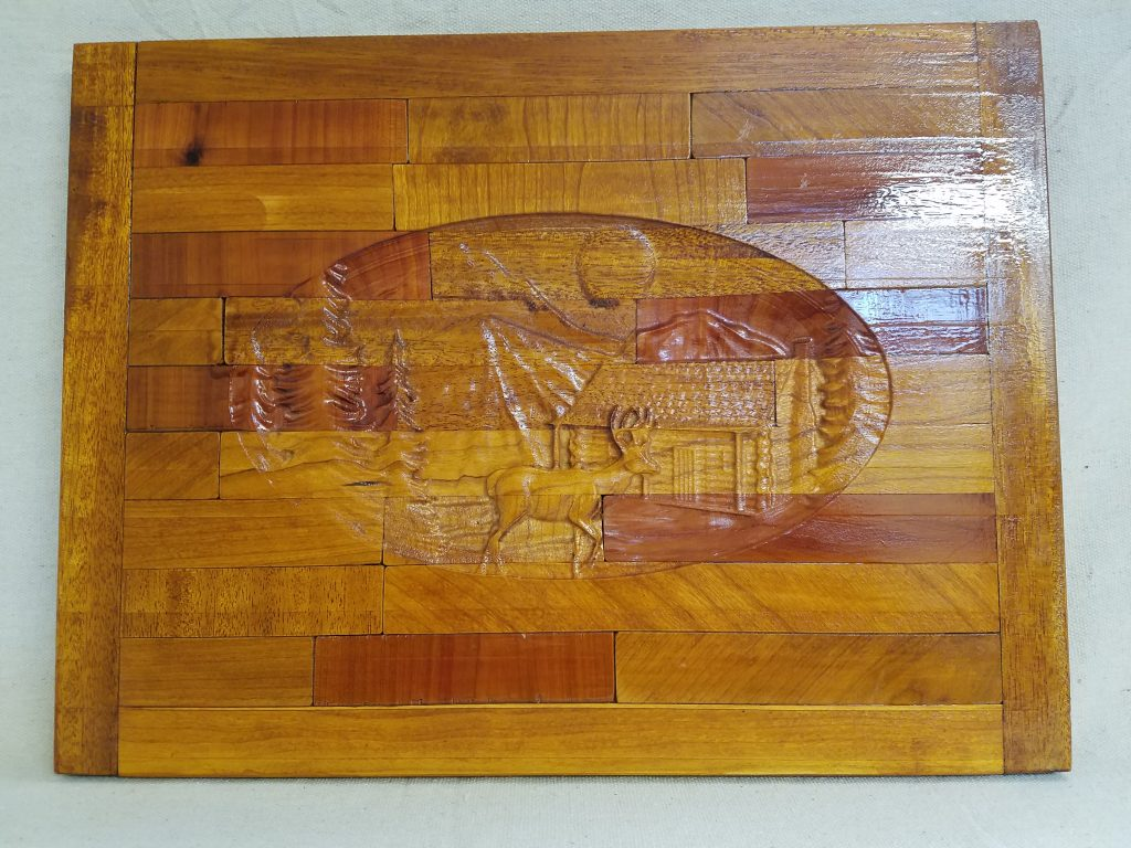 Homestead Wall Carving
