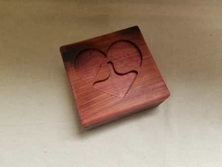 Love Bird Keepsake Box