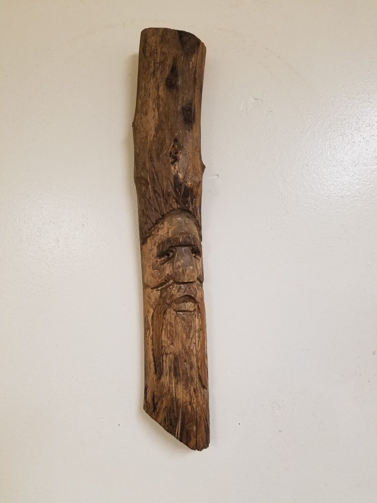 Hand Carved Wood Spirit