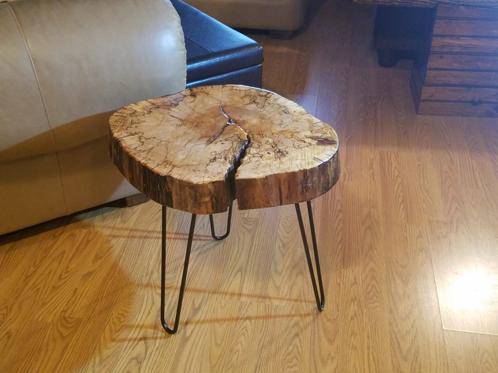 Spalted Maple Coffee / End Table